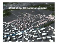 WS 3 summary - 3D Cadastres Workshop 2011