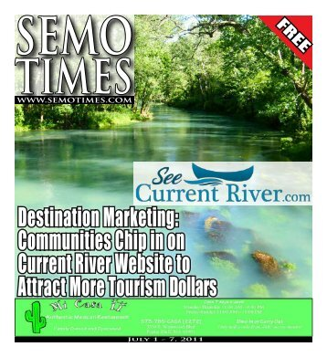 Destination Marketing: Communities Chip in on ... - SEMO TIMES