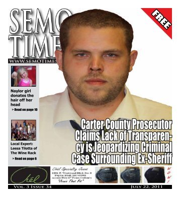 Carter County Prosecutor Claims Lack of Transparen ... - SEMO Times