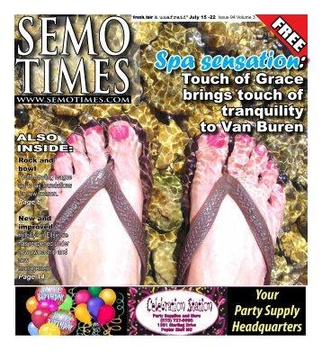 Spa sensation: - SEMO TIMES