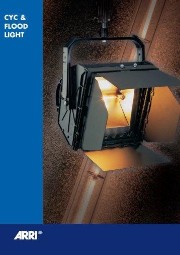 CYC & FLOOD LIGHT - ARRI Lighting Rental