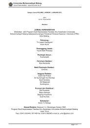 Jurnal Addin: Vol  4 No  1 Januari - Juni 2012 - P3M - STAIN