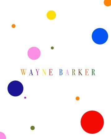 Art Catalogue Wayne Barker 2013