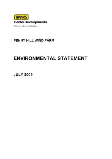 environmental statement - Rotherham's Online Application for ...