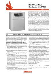 HERCULES Mini Condensing 32 kW 50 l - CLLAT.IT