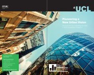 brochure - UCL Engineering Doctorate - Urban Sustainability ...
