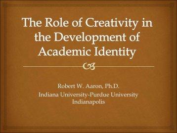 R Aaron - Undergrad Academic Identity.pdf - ACPA 2014 ...
