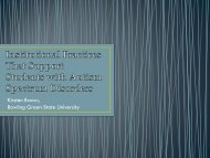 Institutional Practices That Support Student with Autism Spectrum ...
