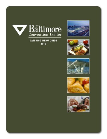 CATERING MENU GUIDE 2010