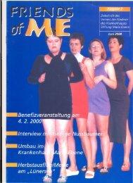 2. Ausgabe - Juni 2000 - Stiftung Maria Ebene