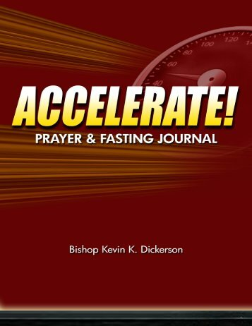 2013 Accelerate Prayer and Fasting Journal-2013 for ... - Stablerack