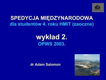 OPWS 2003
