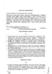 kontrakt menedżerski - Janusz Kubicki