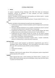 Centra Pobytowe po II etapie weryfikacji [PDF]