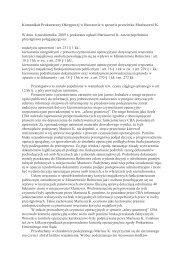 Komunikat Prokuratury Okręgowej w Rzeszowie w sprawie ...