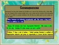 Consequences - Bibb County Schools