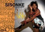 SISONKE CROSS CONTINENTAL DESIGN CATWALK 2010 - Programme