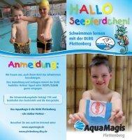 Schwimmen lernen mit der DLRG Plettenberg - Aquamagis
