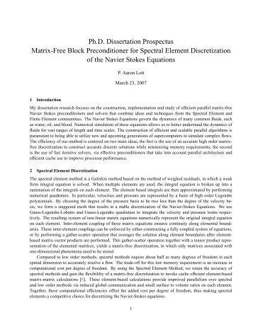 dissertation prospectus