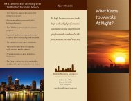 To download this brochure please fill out the - Boston Business Group