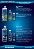 Meerwasserpräparate Salt Water Supplements - Aqua Medic - Seite 5
