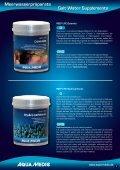 Meerwasserpräparate Salt Water Supplements - Aqua Medic - Seite 7