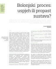 Bolonjski proces: uspjeh ili propast sustava? - Supeus