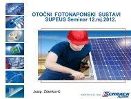 otočni fotonaponski sustavi - Supeus