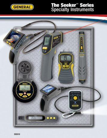 The Seeker™ Series Specialty Instruments - General Tools And ...