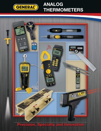 Analog Thermal - General Tools And Instruments