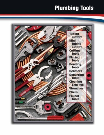 Plumbing Tools (pp. 5-20) - General Tools And Instruments