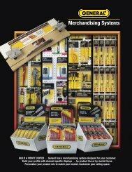 Planograms & Countertop Displays - General Tools And Instruments