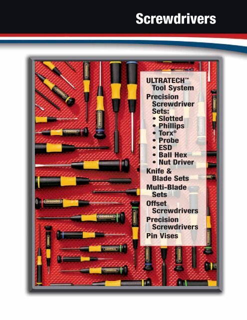 Philips Slotted Torx GENERAL Tools 67123-7 pc Precision Screwdriver Set