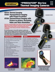 Thermal Imaging Cameras - General Tools And Instruments