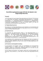 Durchführungsbestimmungen 2013 für die Spiele in der ...