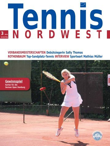 Tennis - n 3 - Tennisverband NORDWEST eV