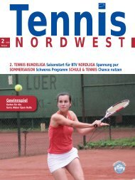 2· 2010 - Tennisverband NORDWEST eV