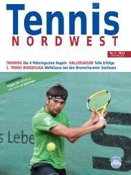 Tennis NORDWEST 2/2013 - Tennisverband NORDWEST eV