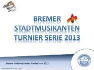 Unterlagen zur BSM Turnierserie - Tennisverband NORDWEST eV