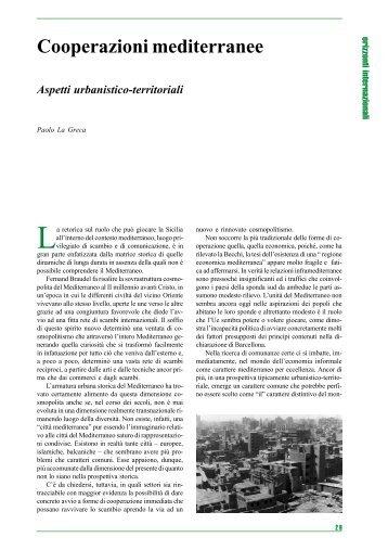 Cooperazioni mediterranee - Università degli Studi di Catania