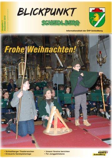 Blickpunkt - Schiedlberg