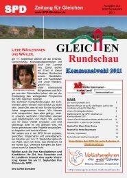 Gleichen Rundschau-kommunalwahlausgabe 2011