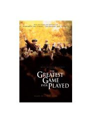 The Greatest Game Ever Played - Walt Disney Studios Motion ...