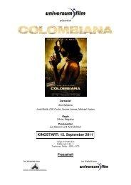 COLOMBIANA Presseheft