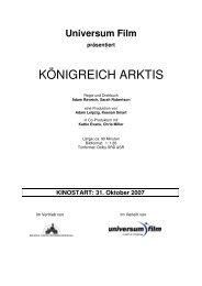 Presseheft KOENIGREICH ARKTIS