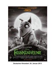 Deutscher Kinostart: 24. Januar 2013 - Walt Disney Studios Motion ...