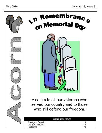 A salute to all our veterans who served our country and to those who ...