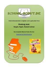 Rangeln, Regeln, Rücksicht nehmen - Lehrer bei School-Scout
