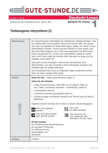 Inhaltsverzeichnis IX 1.4