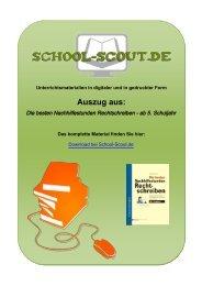 Die besten Nachhilfestunden Rechtschreiben - ab 5 ... - School-Scout